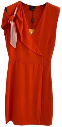 Fendi Red Silk Dresses