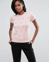 Oasis Spot Knit Sweater