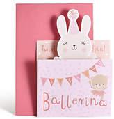 Marks and Spencer Ballerina Pop-Up Birthday Card