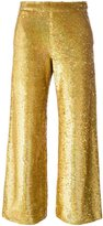 Ashish sequin trousers - women - Silk/Cotton/Polyester - S