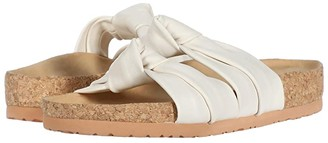 Soludos Clara Knotted Sandal (White) Women's Shoes