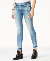 True Religion Liv Light Blue Wash Ripped Skinny Jeans