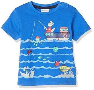 Salt&Pepper Salt & Pepper Baby Boys' Mit Maritimen Druck T-Shirt,(Size: 80)