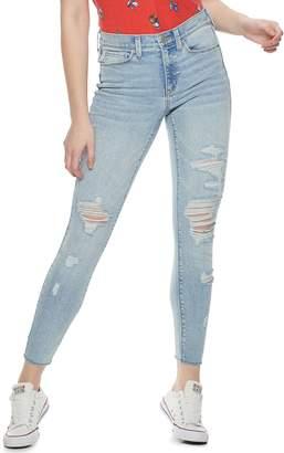Mudd Juniors' Mid-Rise Vintage Skinny Jeans