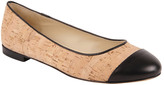 Butter Shoes Tease Cork Ballerina Flat