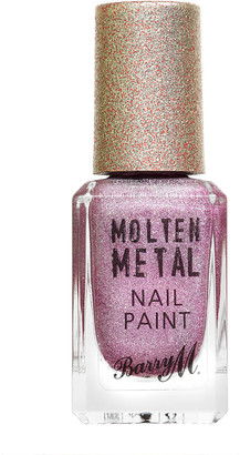 Barry M Molten Metal Nail Paint Holographic 10Ml Rocket