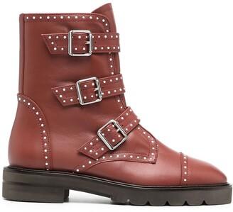 Stuart Weitzman Jesse studded boots