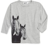 Molo Toddler Girl's Rosey Horse Graphic Tee