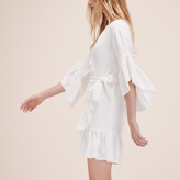 Maje Short dress with frills