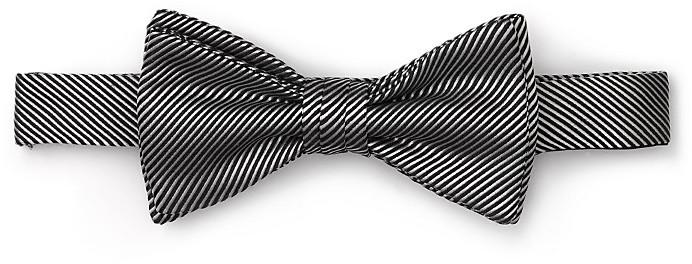 Duchamp Ceremonial Stripe Bow Tie