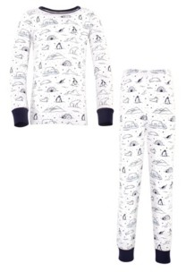 Touched by Nature Baby Boy and Girl Tight Fit Long Sleeve Top and Pant Pajama Set