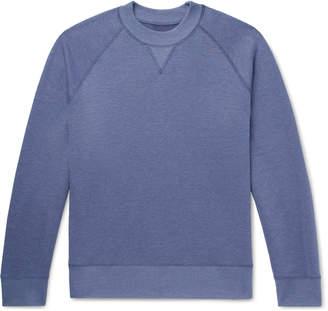 Melange Home Entireworld Loopback Cotton-Blend Jersey Sweatshirt