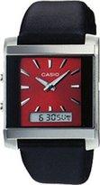 Casio Men's Core MTF110L-4A Leather Quartz Watch