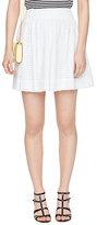 Kate Spade Dot eyelet mini blaire skirt