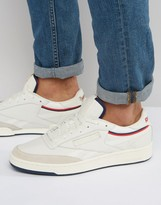 Reebok Revenge Tennis Pack Trainers In White Bd2885