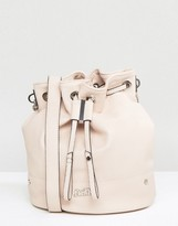 Faith Chain Handle Bucket Bag