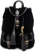 Saint Laurent Velvet Festival Backpack