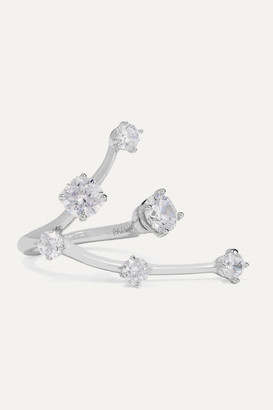 Panconesi Constellation Silver Crystal Ring - 52