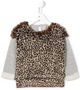 Anne Kurris 'Junglel' leo sweatshirt