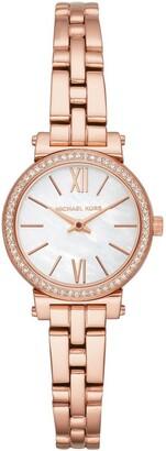 Michael Kors Sofie Rose Gold Watch