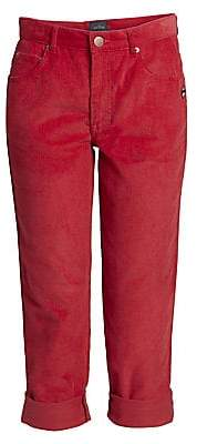 Marc Jacobs Women's The Corduroy Turn-Up Jeans