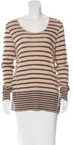 Burberry Striped Long Sleeve Top