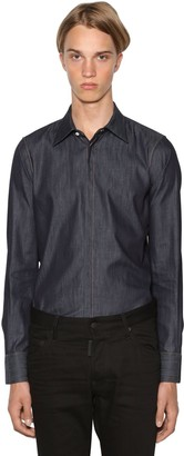 DSQUARED2 Slim Fit Relaxed Cotton Denim Shirt