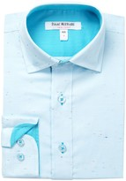 Isaac Mizrahi Long Sleeve Multicolor Splash Shirt (Toddler, Little Boys, & Big Boys)