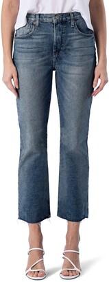 Modern American La Brea High Waist Crop Bootcut Jeans