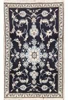 Black Floral Rug Shopstyle