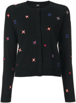 Paul Smith embroidered knitted cardigan
