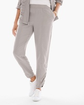 Chico's Ruched Ankle Pants