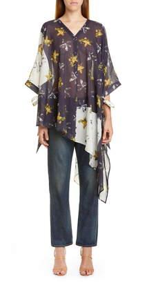 Palmer Harding Palmer/Harding Havana Asymmetrical Linen Shirt