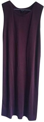Monki Burgundy Dress for Women