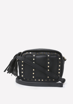 Bebe Studded Crossbody Bag