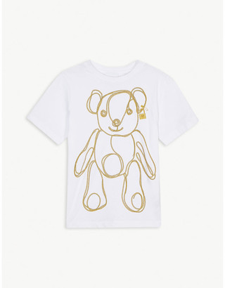 Burberry Chain bear cotton T-shirt 3-14 years