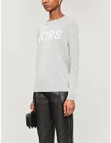 MICHAEL Michael Kors Logo-print knitted jumper