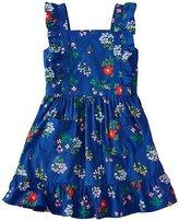 Girls Pinafore Pocket Dress