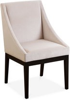 Rosell Curved Dining Chair, Quick Ship