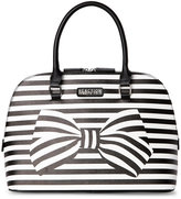 Kenneth Cole Reaction Black & White Knots Away Dome Satchel