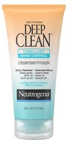 Neutrogena Deep Clean® Long-Last Shine Control Facial Cleanser/Mask - 6 fl oz