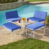Varick Gallery Tenafly 5 Piece Seating Group with Cushion