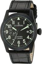 Le Château Men's 7081mgun_blk Dynamo Watch