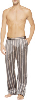 JACQUARD STRIPES Trousers