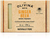 OLIVINA MEN Exfoliating Bar Soap - Ginger Beer
