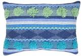 """Boho Boutique Blue Gem Cool Throw Pillow (13""""x18"""")"""