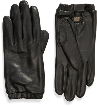 Rachel Parcell Leather Driving Gloves
