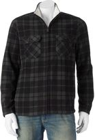 Croft & Barrow Men's Classic-Fit Plaid Arctic Fleece Jacket