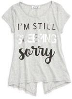 Ten Sixty Sherman Girl's 'I'M Still Sleeping, Sorry' Graphic Tee