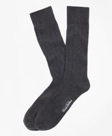 Brooks Brothers Ribbed Crew Socks